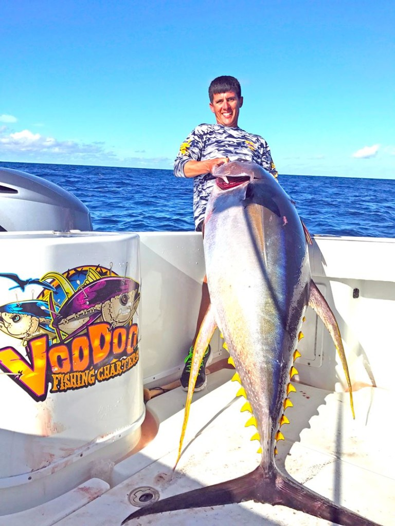Deep Sea Offshore Gulf Of Mexico Yellowfin Tune Fishing Charters in Venice Louisiana for Guide Trips