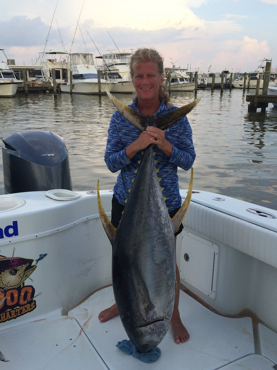 Venice offshore tuna fishing charters louisiana 43 for Kite fishing for tuna