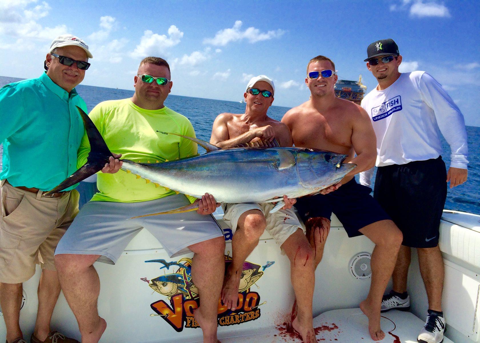 Tuna fishing charter venice louisiana for Louisiana fishing charters